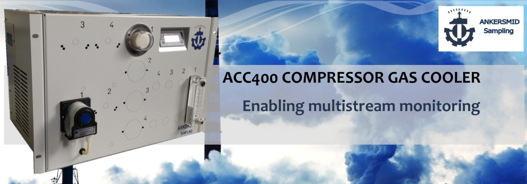 ACC 400 COMPRESSOR GAS COOLER