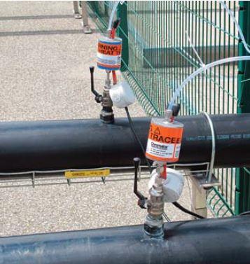 LPS biogas sampling probe