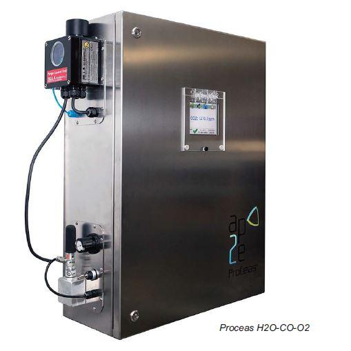 ProCeas H2O CO O2