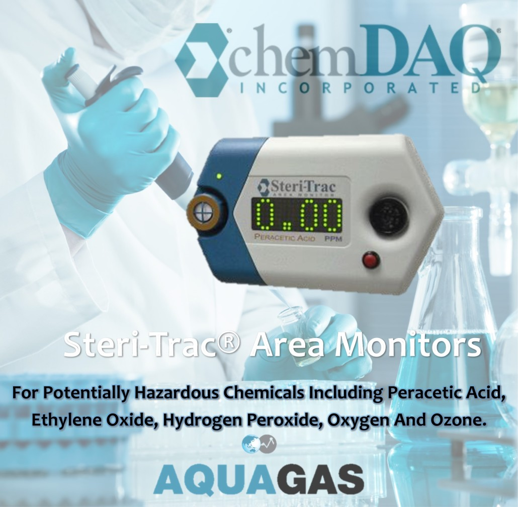 Steri-Trac Area Monitors - sterilant gas - AquaGas